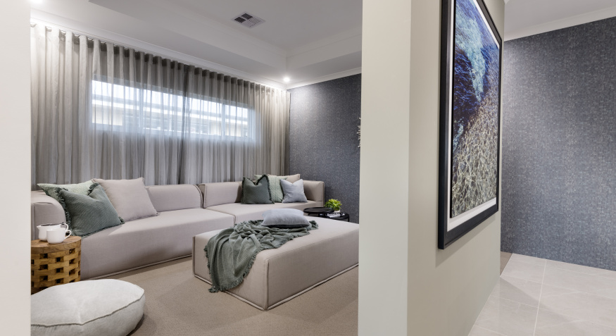 Coral Bay Display Home Theatre