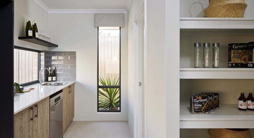 Serenity Display Home Scullery