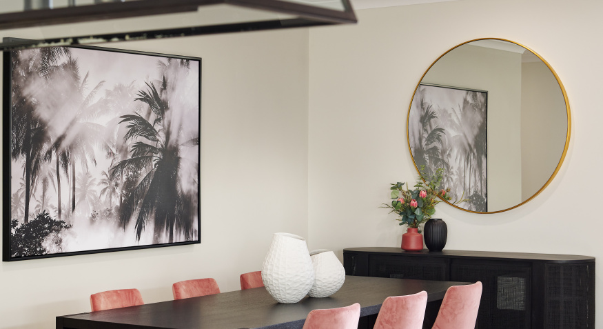 Southport Display Home Dining Room
