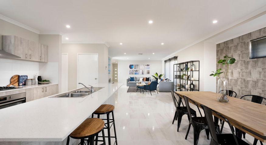 Florence Display Home Open Plan Living