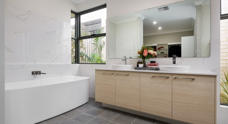 Southport Display Home Ensuite