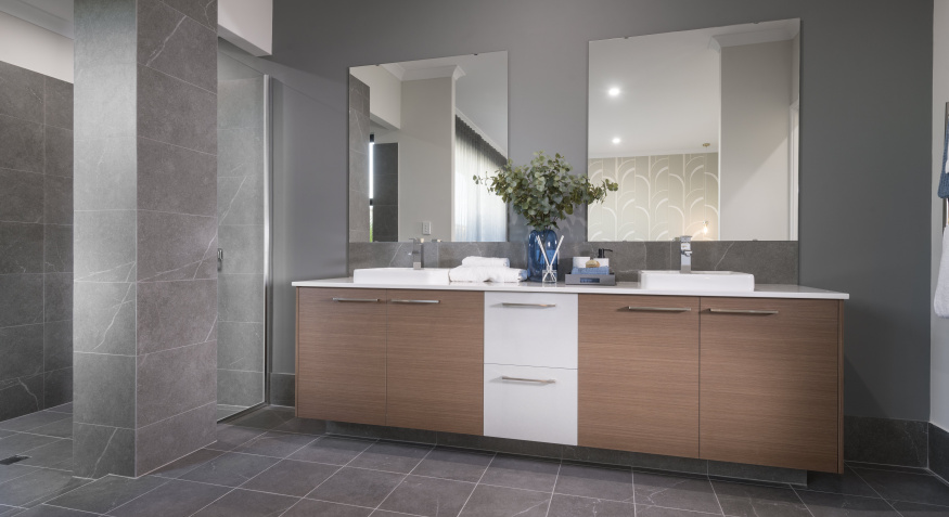 Northport Display Home Ensuite