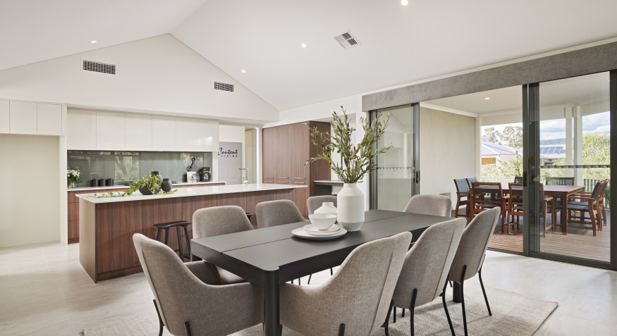 Outlook Display Home Dining Room