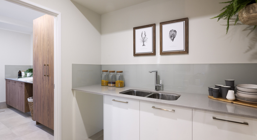 Oceana Display Home Scullery