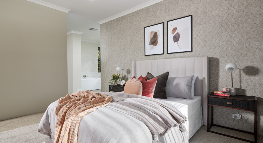 Southport Display Home Master Bedroom