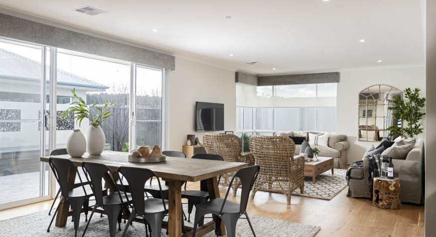 Driftwood Display Home Dining Room