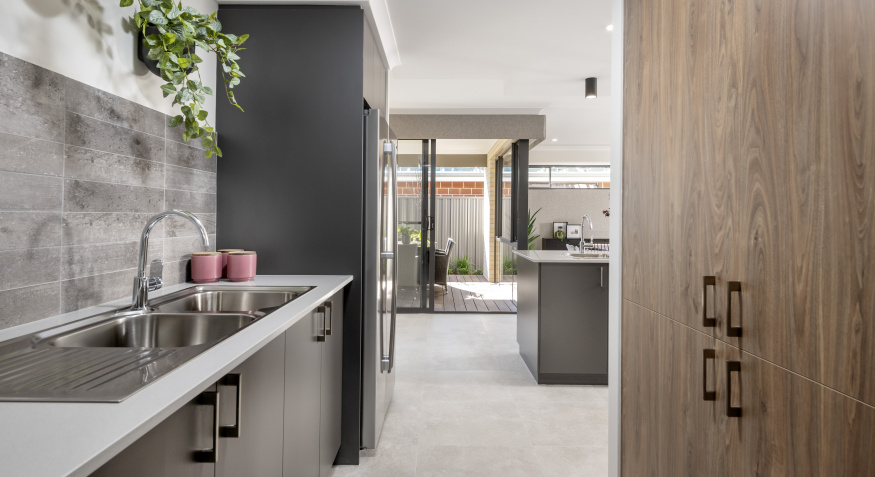 Manila Display Home Scullery