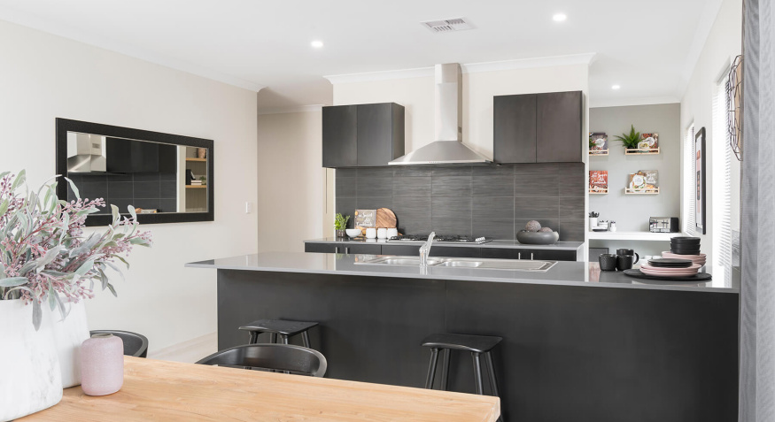Etihad Display Home Dining Room and Kitchen