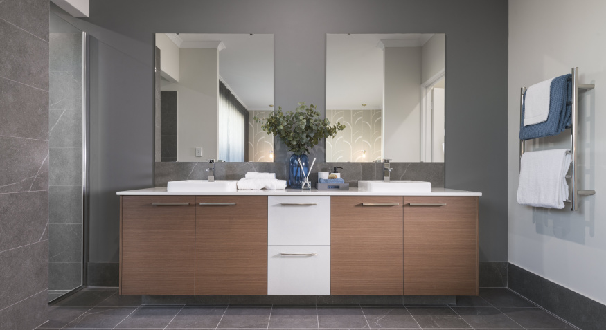 025Northport Display Home Ensuite