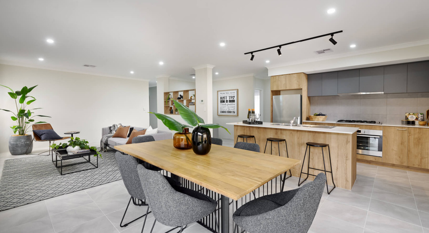 Memphis Display Home Dining Room
