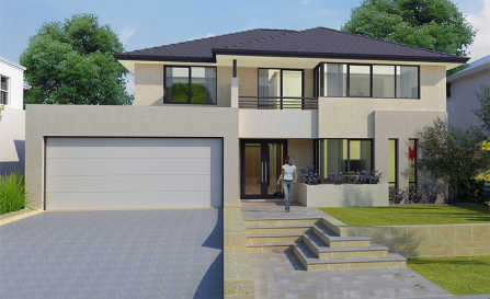 House plans and design modern double storey house plans Modern double storey house plans
