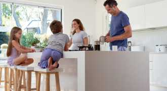 Designing a super family kitchen
