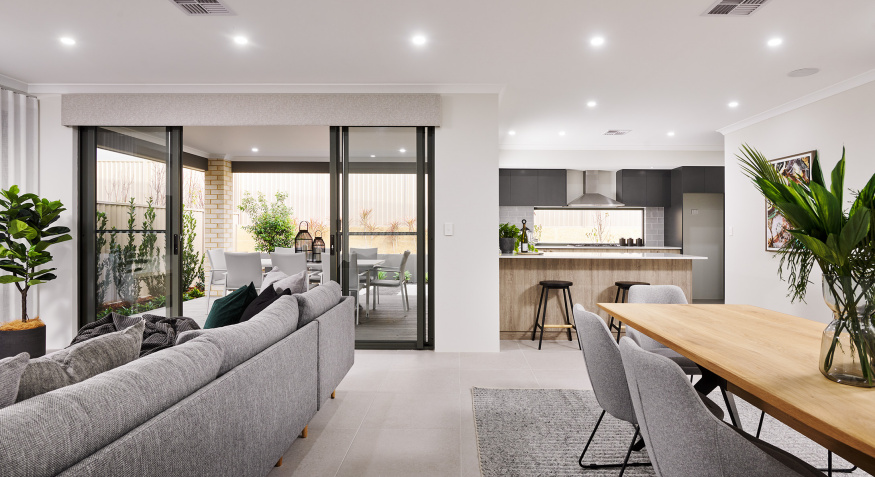 Serenity Display Home Open Plan Living
