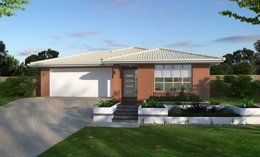 Midland 23 by ausbuild from 186 400 new homes for Midland home builders