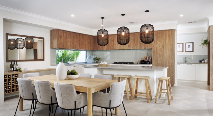 Oceana Display Home Dining Room and Kitchen