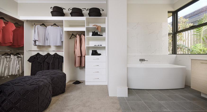 Southport Display Home Ensuite and Walk in Robe