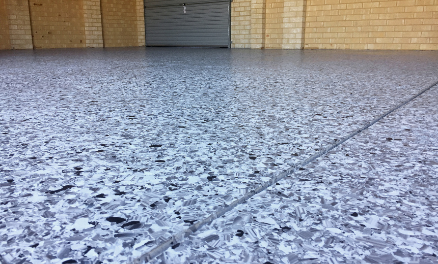 Termishine - 2 Flake Garage Floor