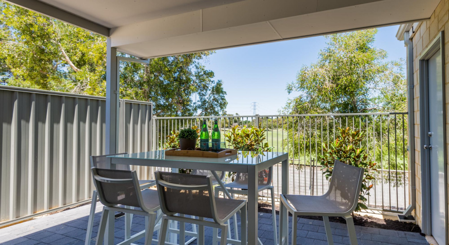 Parkview, Ferndale Display Home Alfresco