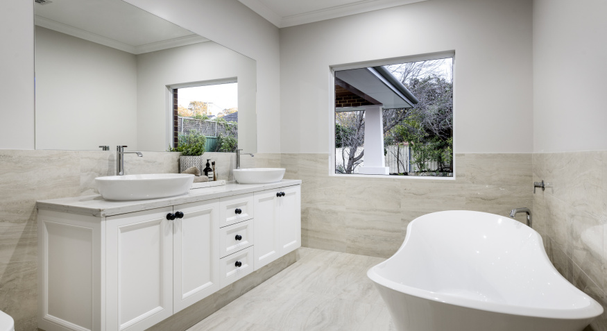 Luxury bathroom exclusive residence