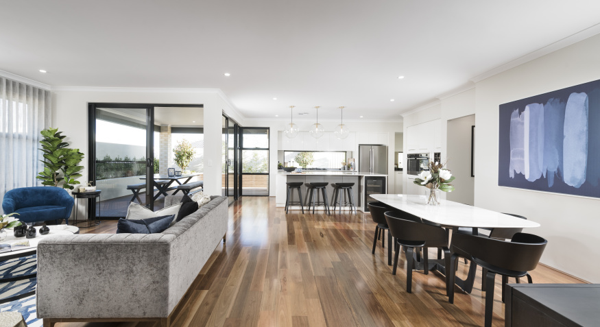 Northport Display Home Open Plan Living