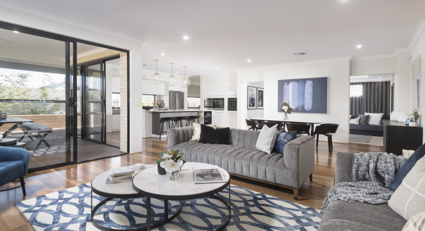 Northport Display Home Living Room