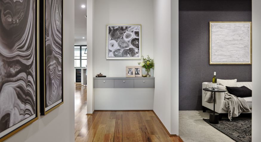 Southport Display Home Hallway