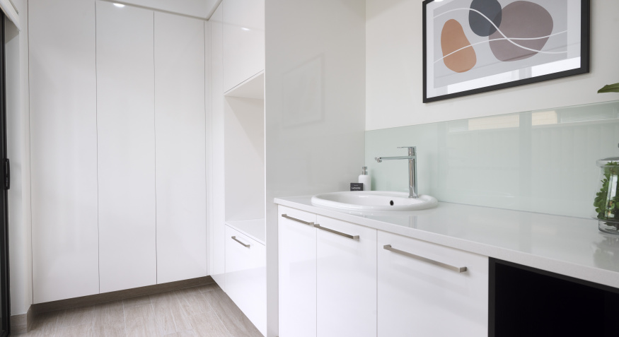 Opulence Display Home Laundry
