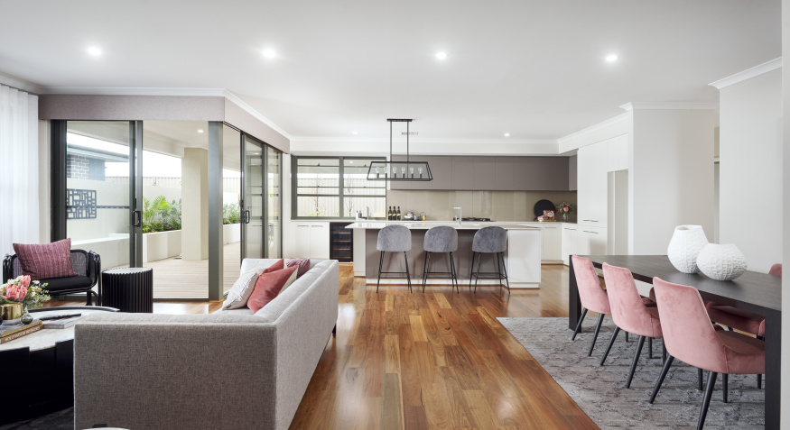 Southport Display Home Open Plan Living