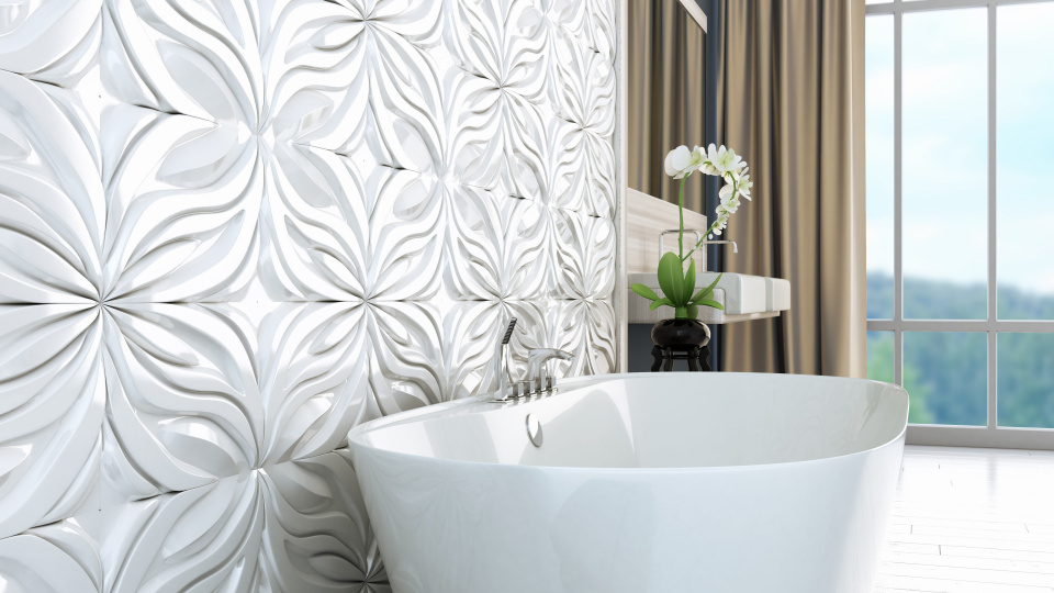 3D Bathroom Tiles