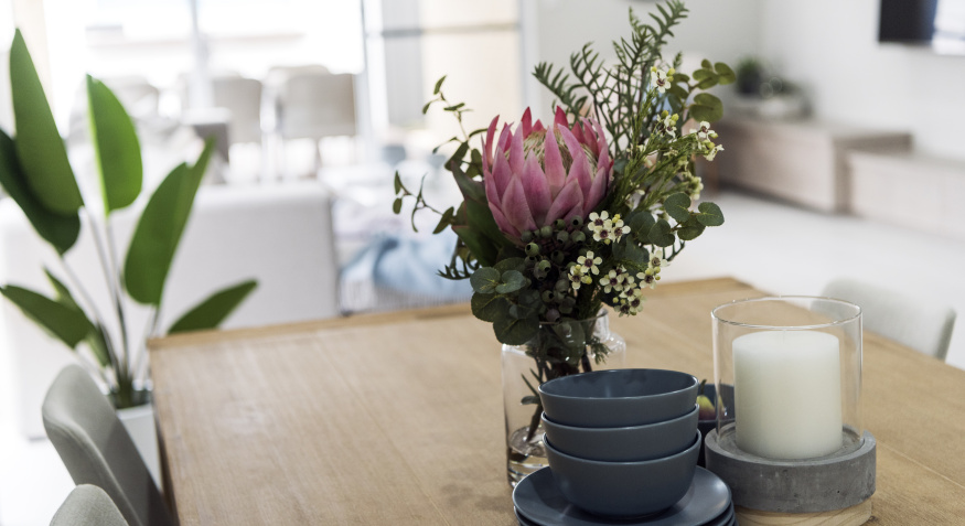 Lily Display Home Dining Room
