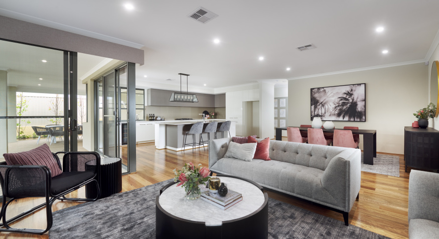 Southport Display Home Living Room