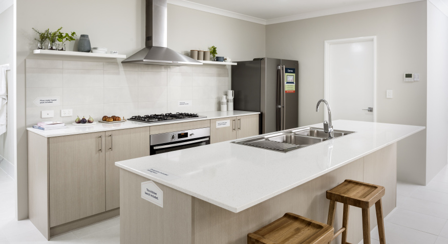 Lily Display Home Kitchen