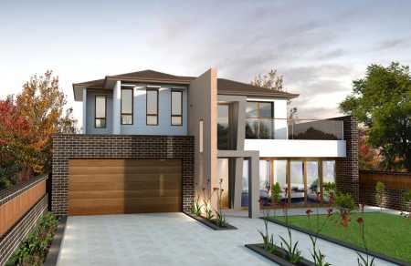 Contemporary Double Story