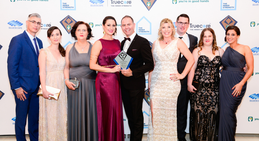 Inspired Homes: WINNER - HIA Perth Excellence in Service Medium Builder