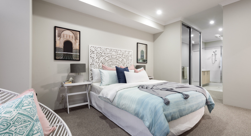 Lily Display Home Master Bedroom