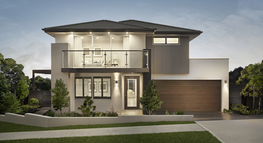 Rawson Homes Benham Trend Facade Front On