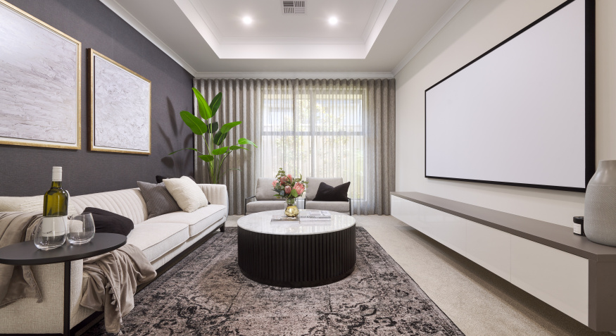 Southport Display Home Theatre