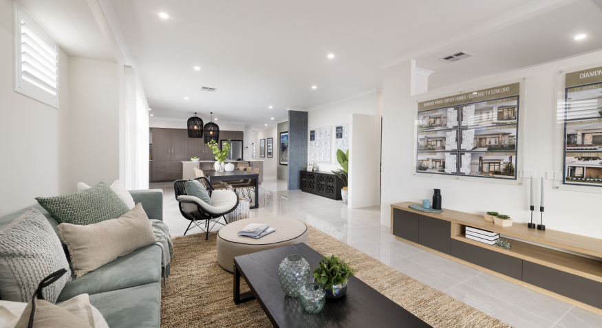 Coral Bay Display Home Open Plan Living